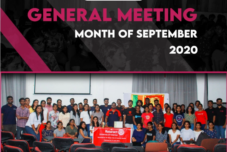 Read more about the article Monthly General Meeting-September.