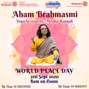 """Read more about the article _Aham Brahmasmi_                               """"I am a drop of Ocean Consciousness."""""""