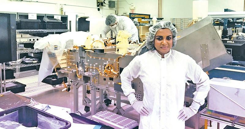 You are currently viewing It's the story of the lady: Sri Lankan born MARS 2020 engineer