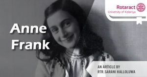 Read more about the article Anne Frank: My darling Anne