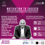 ENHANCING SKILLS TO REACH SUCCESS – The 1st and the 2nd sessions of 'OVERCOME'